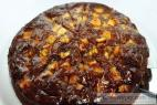Recept Třepací mandarinkový dort s banánem - čokoládový dort