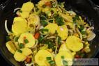 Recept Rychlé kuře na zelenině - kuře na zelenině - příprava