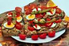 Recept Párková ultrarychlá pomazánka - rybičková pomazánka - návrh na servírování