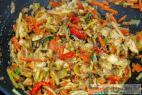 Recept Asijská kuřecí čína s kuskusem - kuřecí čína - příprava