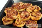 Recept Sýroví pizza šneci - pizza šneci