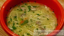 Pravá drůbeží polévka