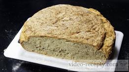 Domácí slunečnicový chléb