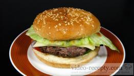 Pravý americký hamburger