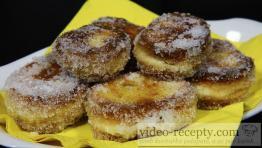 Tvarohové smaženky s vanilkou