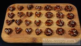 Linecké pečivo s čokoládou