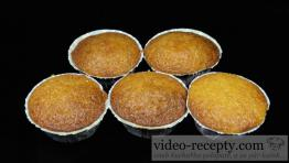 Rychlé vanilkové muffiny