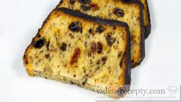 Biskupský chlebíček s čokoládovou polevou