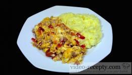 Zeleninová míchaná vajíčka