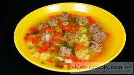 Výborná polévka s hovězími knedlíčky
