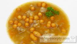 Královská rybí polévka z filé s krutony