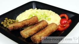 Zeleninové prsty s brokolicí