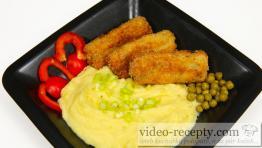 Rybí šišky s brokolicí