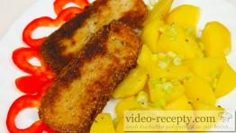 Rybí šišky s cibulí