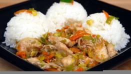 Kuřecí čína s mrkví