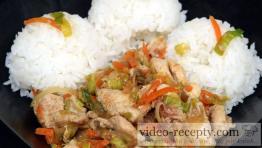 Křupavá čína s mrkví