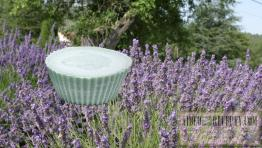 Domácí levandulové mýdlo s glycerínem ze sádla