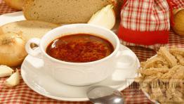 Dršťková polévka na slovácký způsob